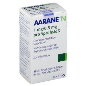 AARANE N Dosieraerosol