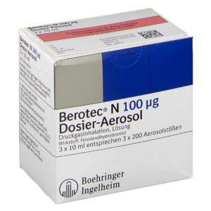 BEROTEC N 100 μg Dosieraerosol