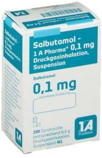 Salbutamol-Spray