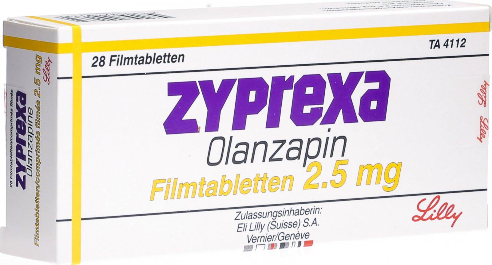 Zyprexa Olanzapin